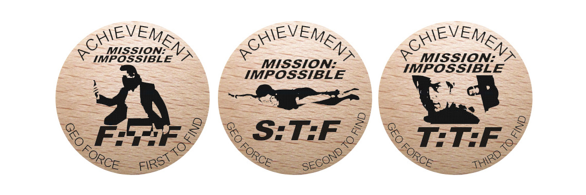 FTF wooden coins Mission Impossible